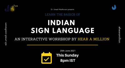 Basics of Indian Sign Language | by Hear a Million