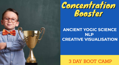 Concentration Booster - 3 Day Bootcamp for kids aged 7 to 14 years