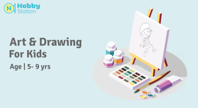 Art & Drawing - Junior Kids (5 to 9 yrs)