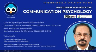 5-Day Masterclass of Communication Psychology