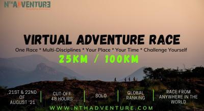 Global Virtual ADVENTURE RACE 25K / 100K SOLO