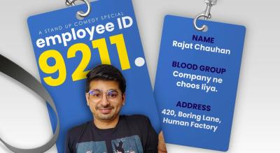 Employee no 9211 a Stand Up Comedy Show