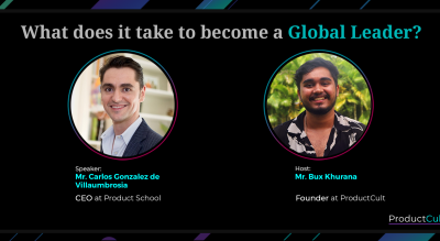 AMA with a Global CEO!