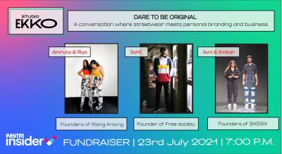 Fundraiser For Covid Relief   Conversation  On Fashion Blogging and Business