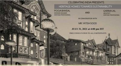 Celebrating India presents: Heritage Homes towards Sustainability: Case Study - The Chateau, Garli
