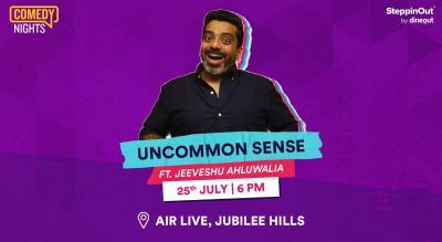 Uncommon Sense with Jeeveshu Ahluwalia| Hyderabad