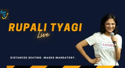 Rupali Tyagi Live