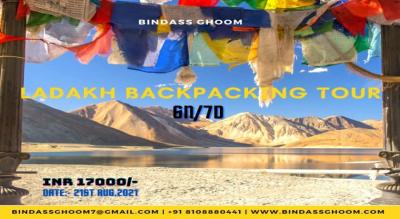 Magical Ladakh Backpacking Group Tour 6N/7D Ex. Leh