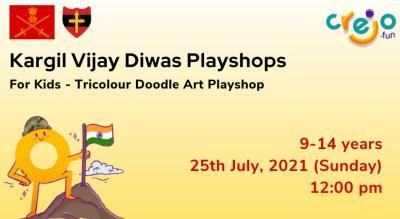 Tri-Colour Doodle Art Playshop