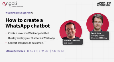How to create a WhatsApp chatbot