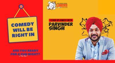 Punchliners Comedy Show ft Parvinder Singh in Kolkata