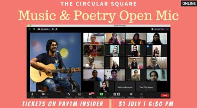 Music & Poetry Open Mic