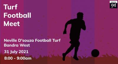 Turf Football Meet At Neville D'souza Football Turf.