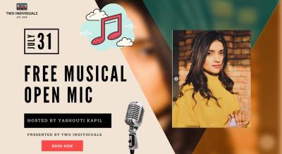 Free Musical Open Mic