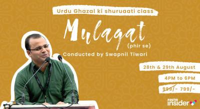 Kommune Presents Mulaqat 2.0: Urdu Ghazal ki Shuruaati Class