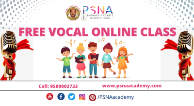 FREE ONLINE VOCAL CLASSES - PSNA ACADEMY