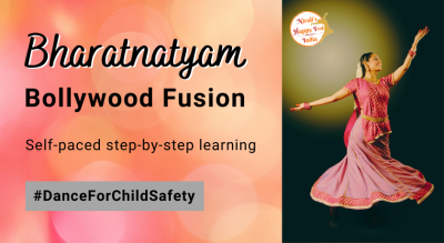 "Bharatnatyam Bollywood Fusion Dance Workshop | Song ""Muqabla"""