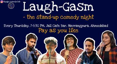 LaughGasm: Comedy Night