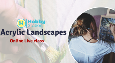 HobbyStation - Acrylic Painting for Adults
