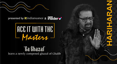 Ace it with the Masters | Ga-Ghazal with Hariharan