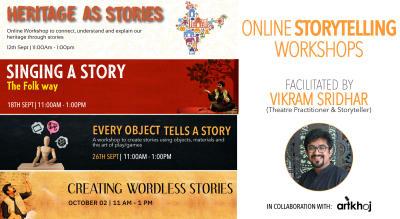 Online Storytelling Workshops