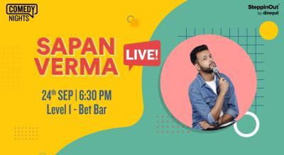 Sapan Verma Live   Mumbai