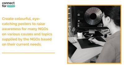 Graphic Designing Volunteer - ConnectFor