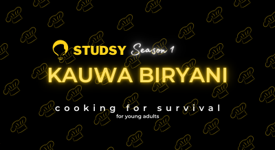 Cooking for Survival : an interactive session by Studsy