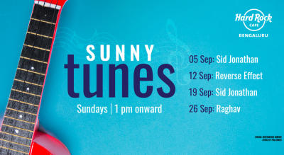 Sunday Live ft. Sid Jonathan @ HRC Bengaluru