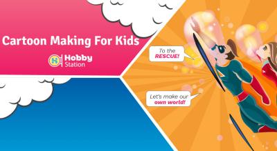 HobbyStation - Cartoon Making for Kids
