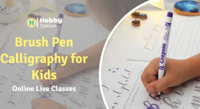 HobbyStation - Brush pen calligraphy for Kids