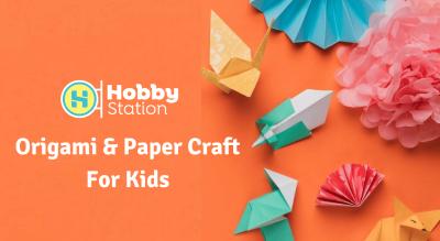 HobbyStation - Origami & Paper Crafts for Kids