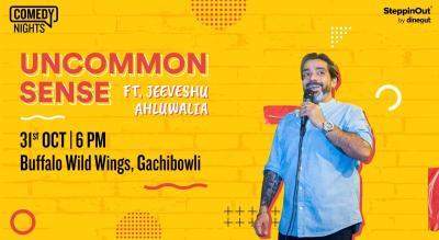 Uncommon Sense with Jeeveshu Ahluwalia  Hyderabad