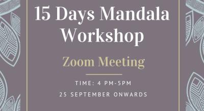 15 Days Mandala Workshop
