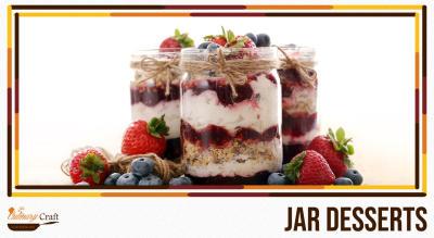 Jar Dessets (Eggless)