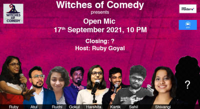 Witches of Comedy Friday Open Mics