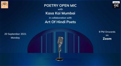 """Poetry Open Mic With """"Art Of Hindi Poets"""""""