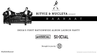 BAARAAT Album Launch Party  - LIVESTREAM @ FC Road Social