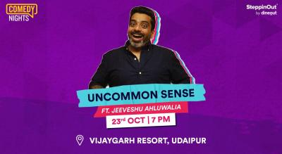 Uncommon Sense with Jeeveshu Ahluwalia | Udaipur