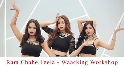 Ram Chahe Leela - Waacking Workshop