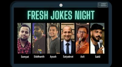 Fresh Jokes Night by Comedy Highway