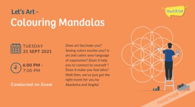 Let's Art: Colouring Mandalas