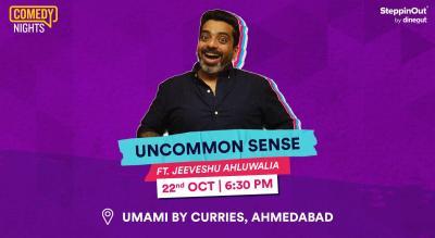 Uncommon Sense with Jeeveshu Ahluwalia | Ahmedabad