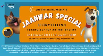 Jaanwar Special Storytelling Fundraiser