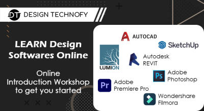 Learn Architecture, Design, Video Editing Softwares Online