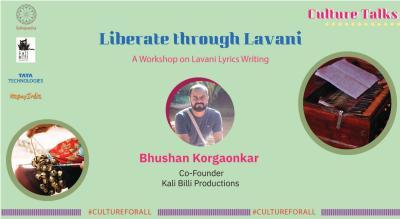 Liberate Through Lavani - Lavani Lyrics Writing Workshop with Bhushan Kargoankar