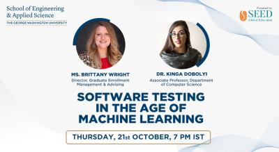 Software Testing in the age of Machine Learning