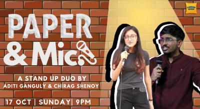 Paper & Mic ft. Aditi Ganguly and Chirag Shenoy