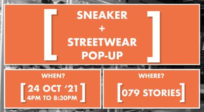 [SNEAKER + STREETWEAR] POP-UP by Sneakerheads of Ahmedabad