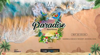 Paradise Beach Festival @ Marbela Beach Resort, Goa